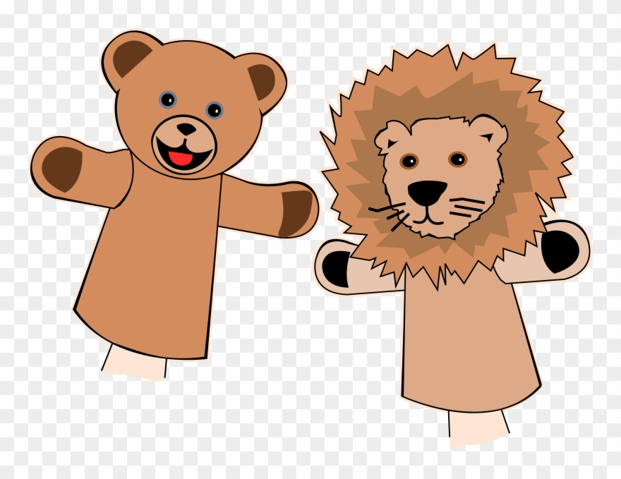 Puppets Clipart.