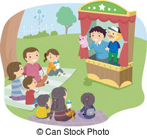 Puppet show Stock Illustrations. 2,389 Puppet show clip art.