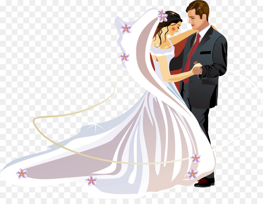 Wedding Couple Clipart Png (+).