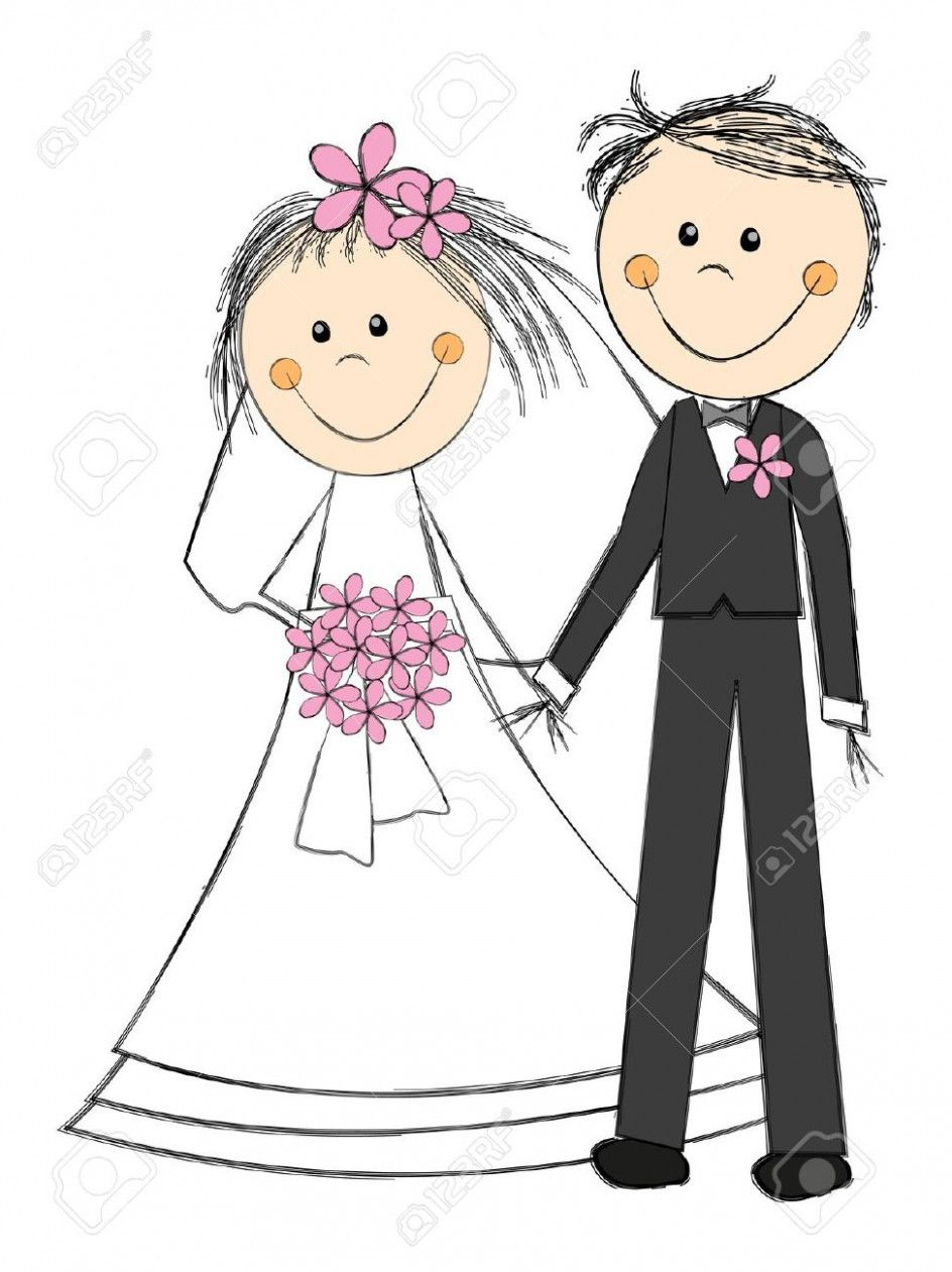 Wedding Couple Clipart Clip Art.
