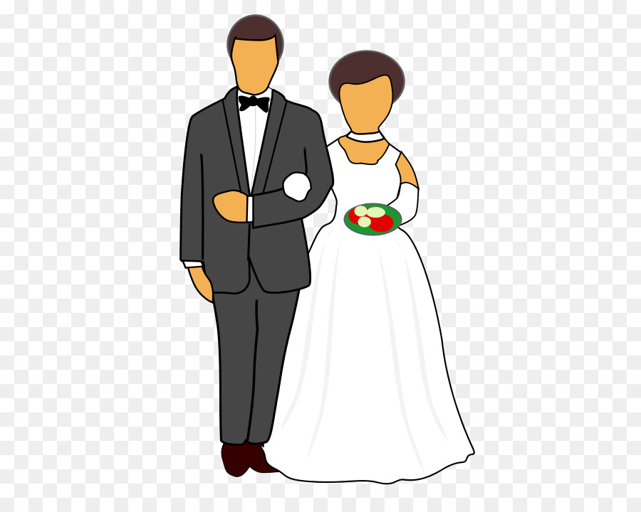 Wedding Couple Cartoontransparent png image & clipart free download.
