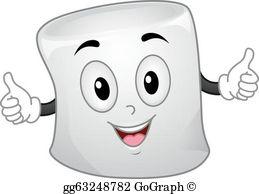 Marshmallow Clip Art.