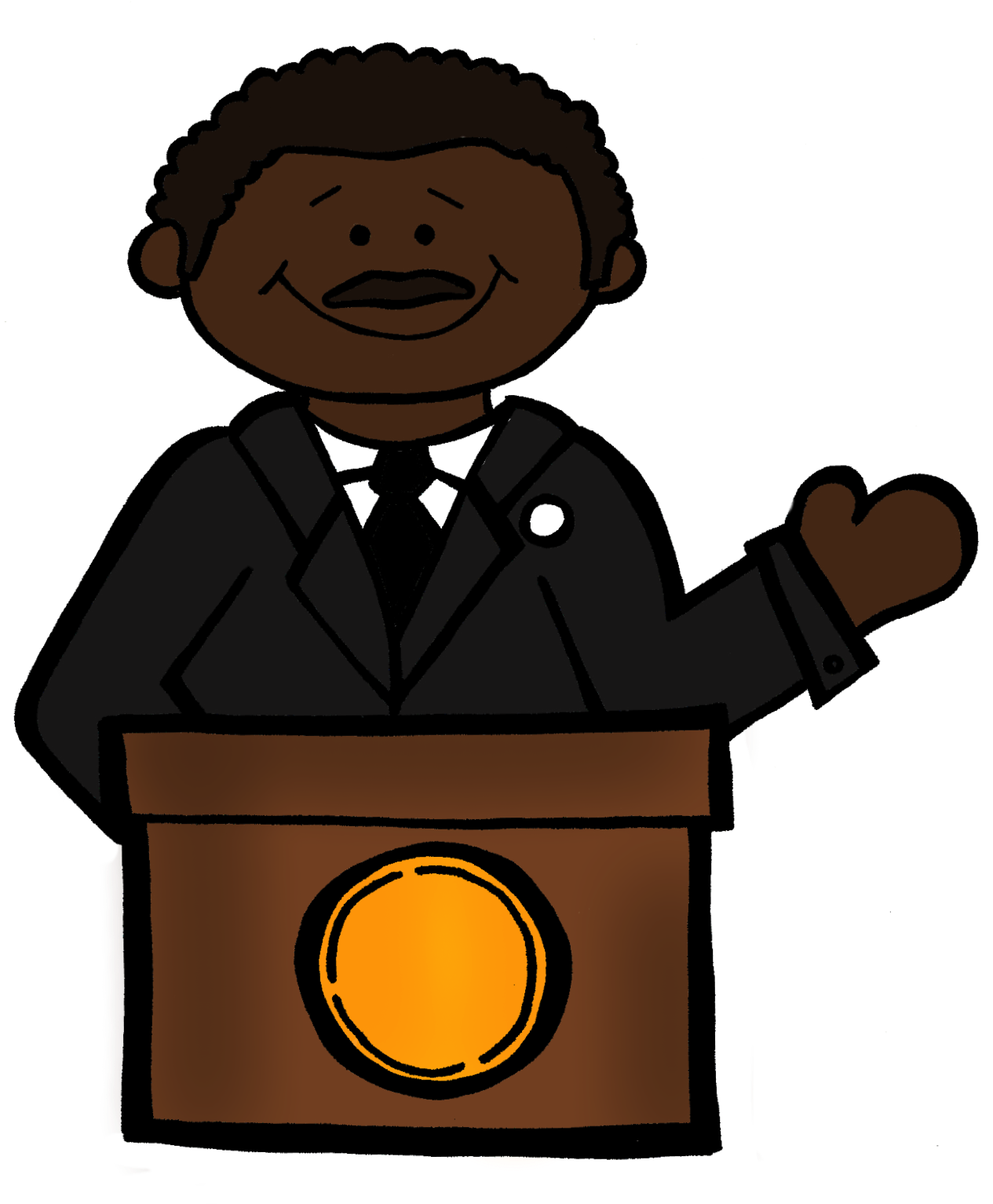 Clipart happy martin luther king day, Picture #550790.