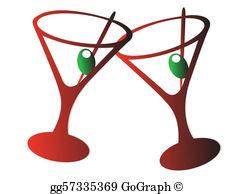 Martini Glass Clip Art.