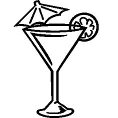 Martini glass clipart 5 » Clipart Station.