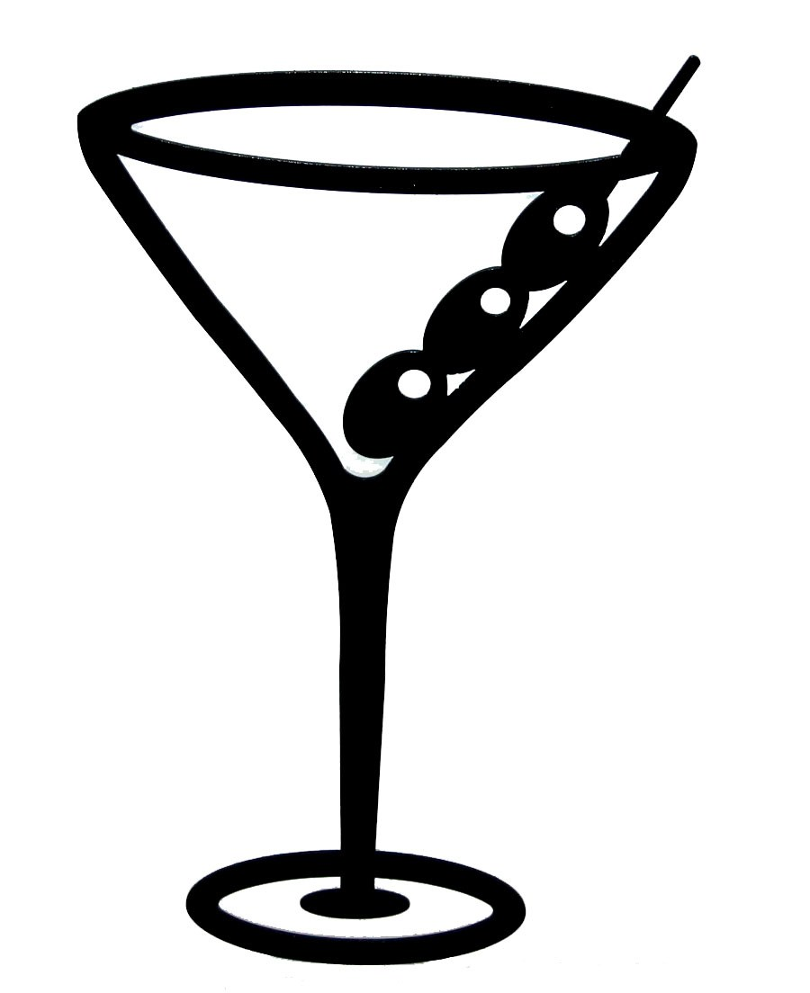 Clipart martini glass with olive 4 » Clipart Portal.