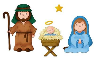 mary and joseph clipart.