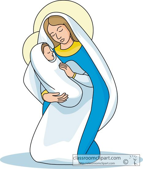 62+ Mother Of Jesus Clipart.