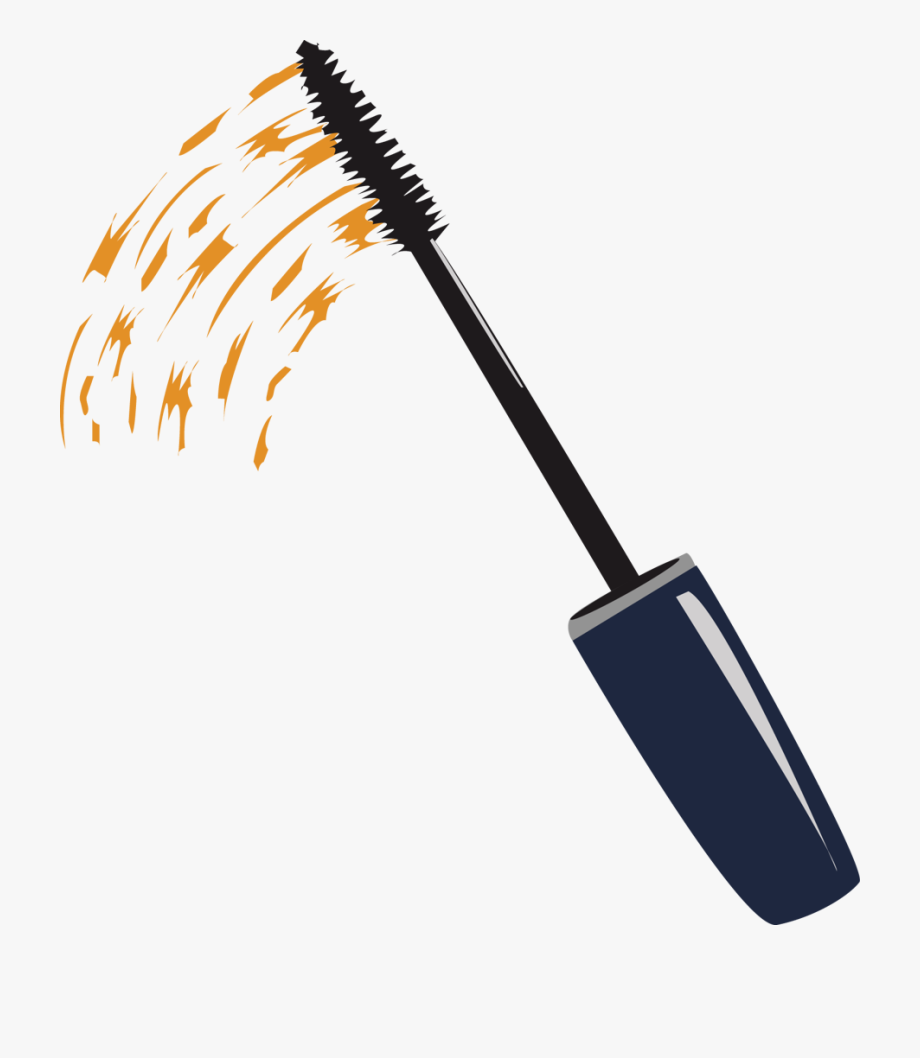 Pin Mascara Wand Clipart.