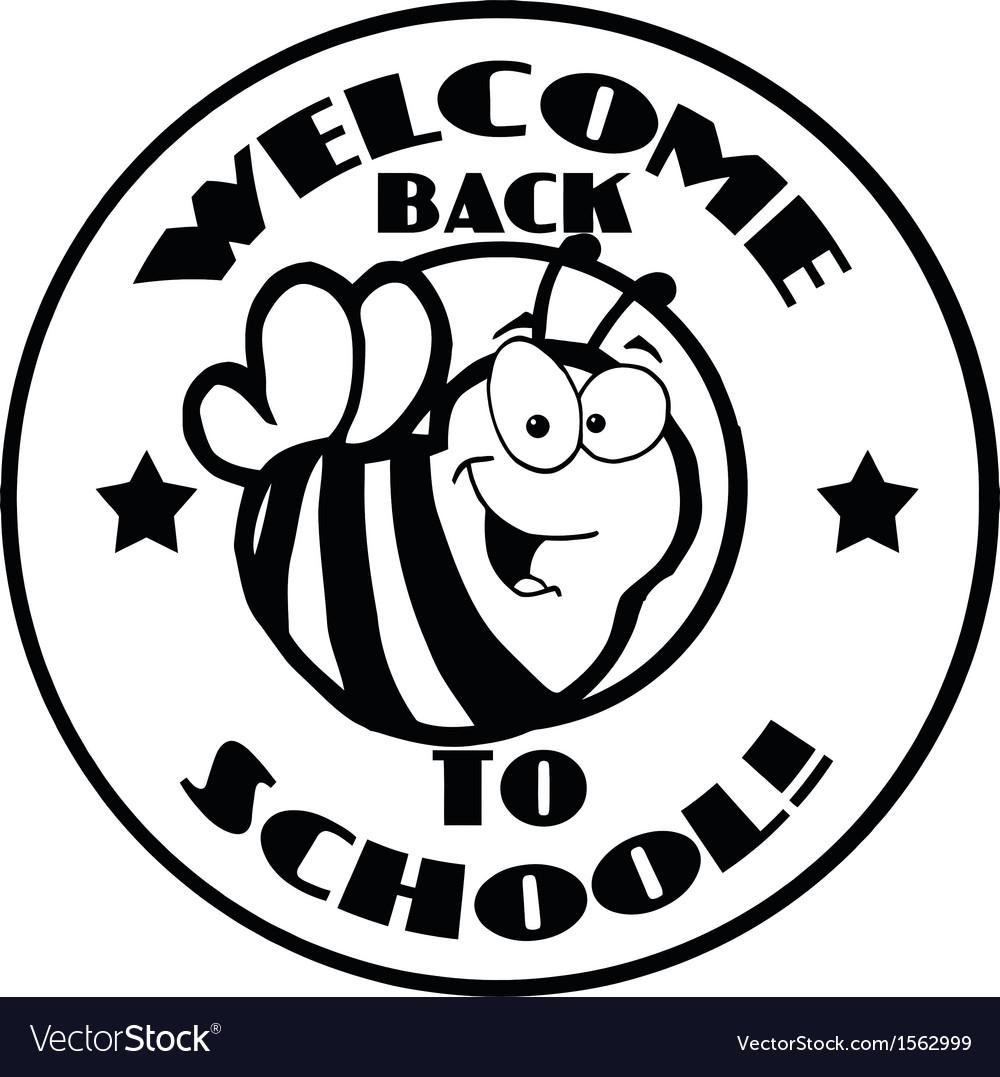 Royalty Free RF Clipart Cartoon Logo Mascot Bee.