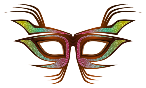 Party Mask Clip Art.
