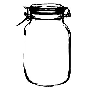 Sweetly Scrapped: More Mason Jars, Honey Jars and More.