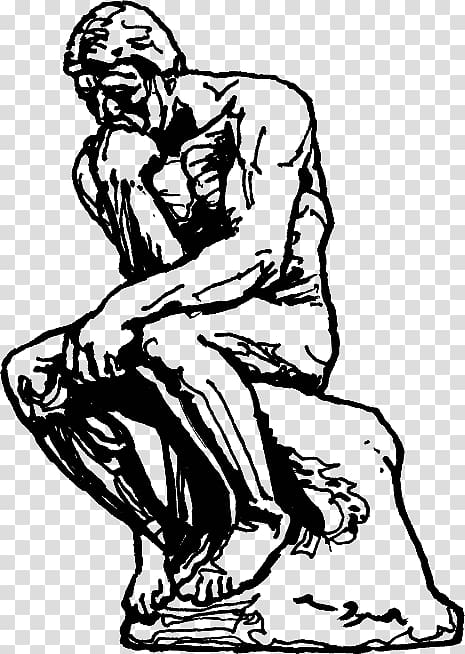 The Thinker Sculpture Drawing Masterpiece, others.
