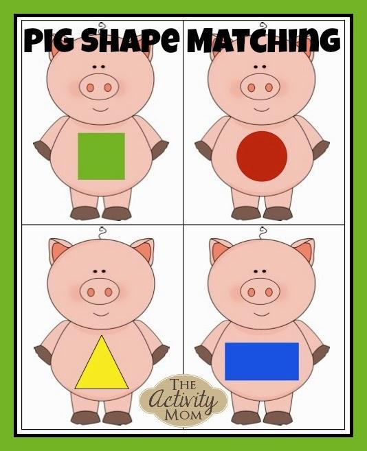 Free Printable Matching Games.