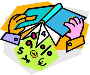 Math Book Clipart.