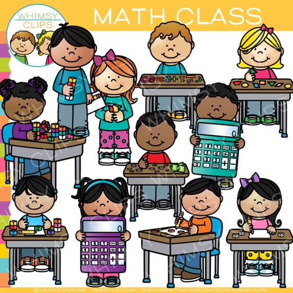 Math Class Clip Art.