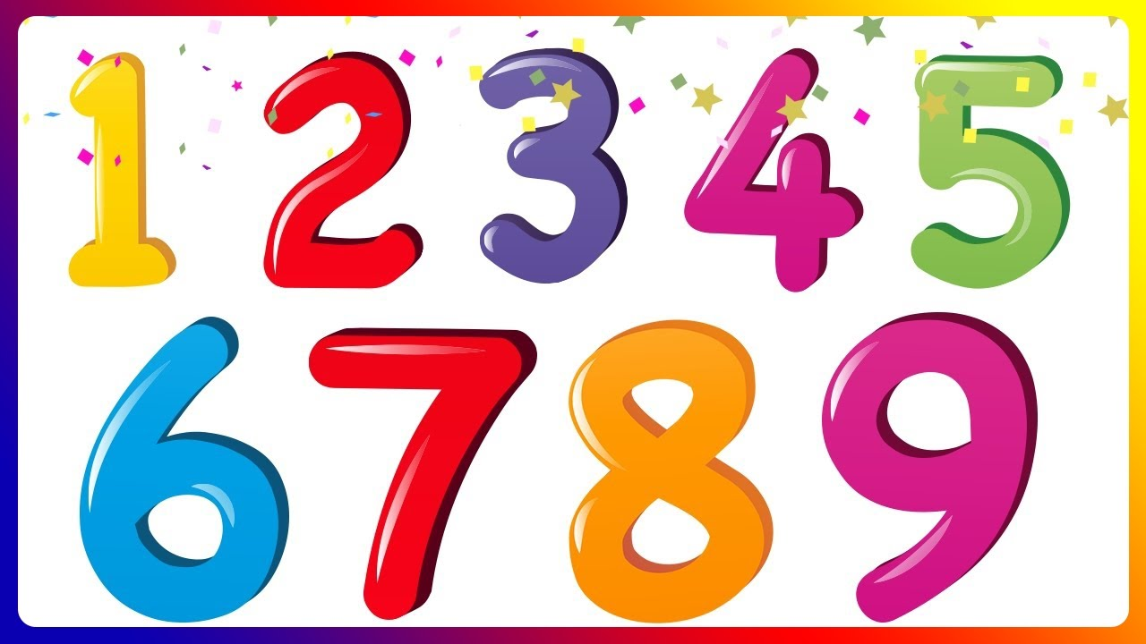 Learn Numbers, Counting and Math Lessons for Children and Toddlers.
