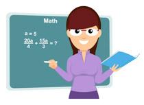 10526 Math free clipart.