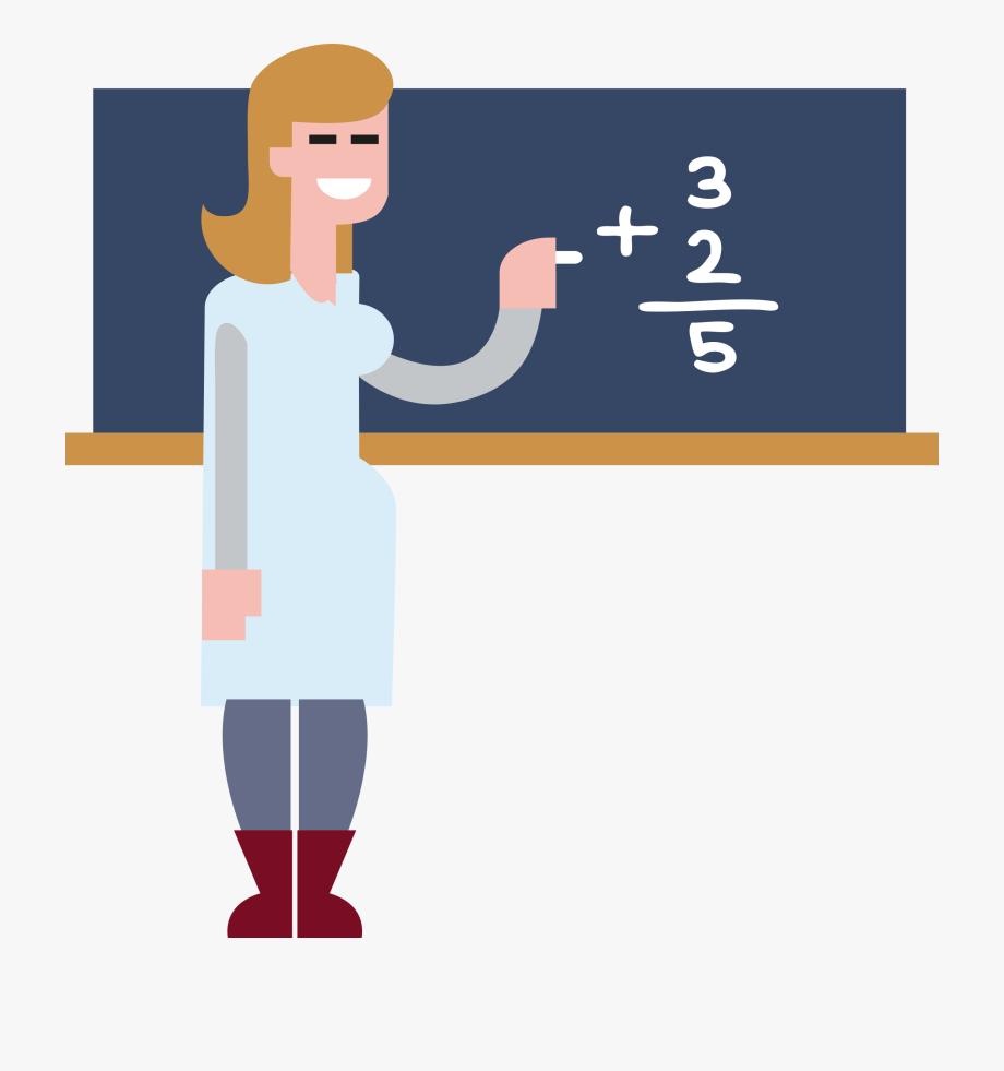 Clipart Math Chalkboard.