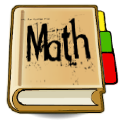 Notebook clipart mathematics book, Notebook mathematics book.