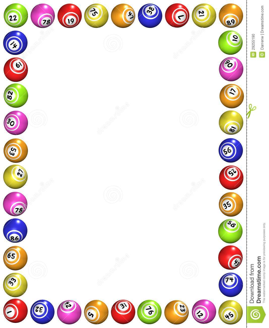 numbers border clipart - Clipground