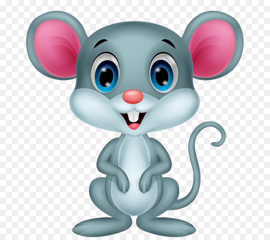 Cartoon Mouse clipart.