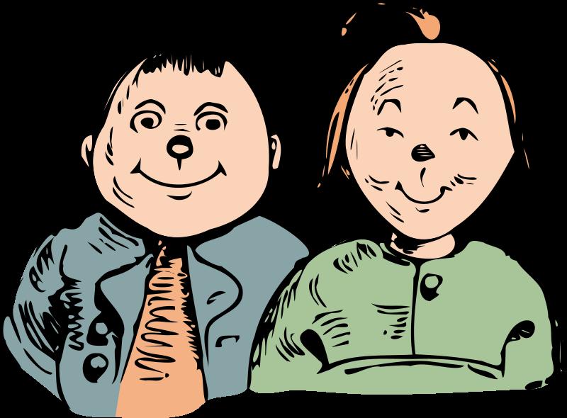 Free Clipart: Max und Moritz.