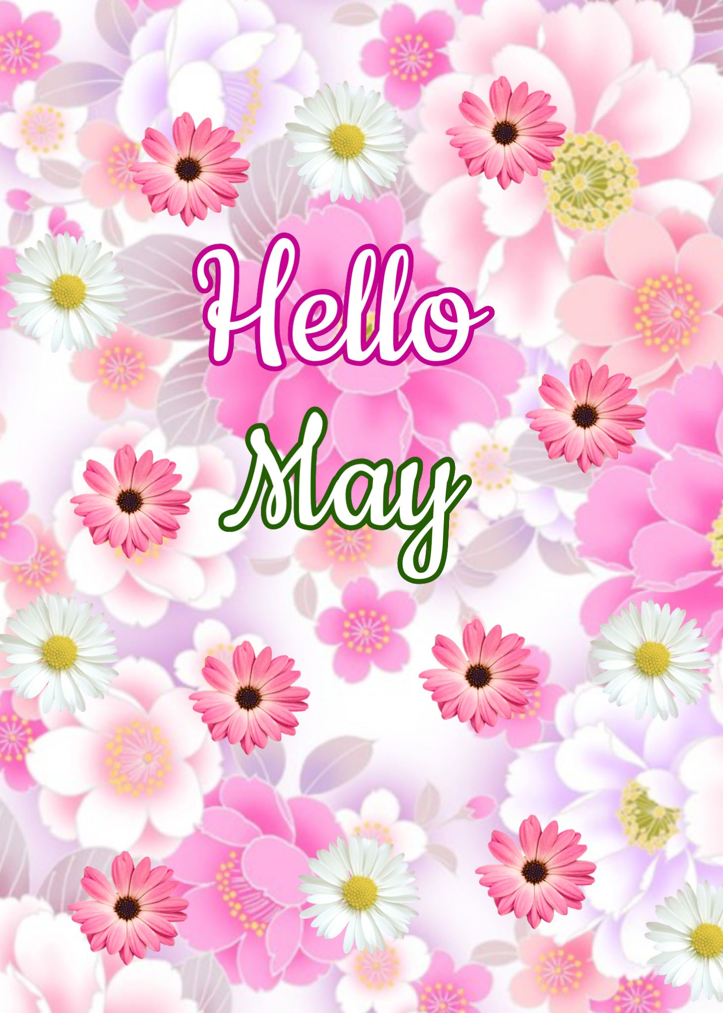 May Flowers Clip Art Group (+), HD Clipart.