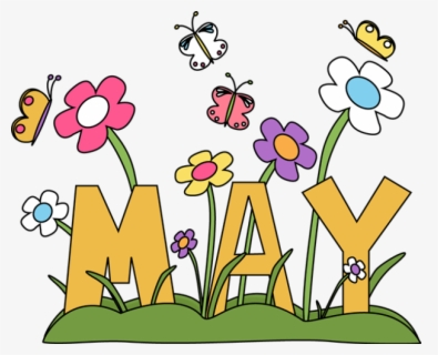 Free Free May Clip Art with No Background.