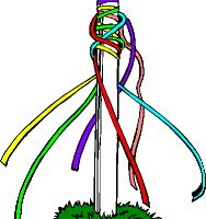 May pole clipart 3 » Clipart Station.