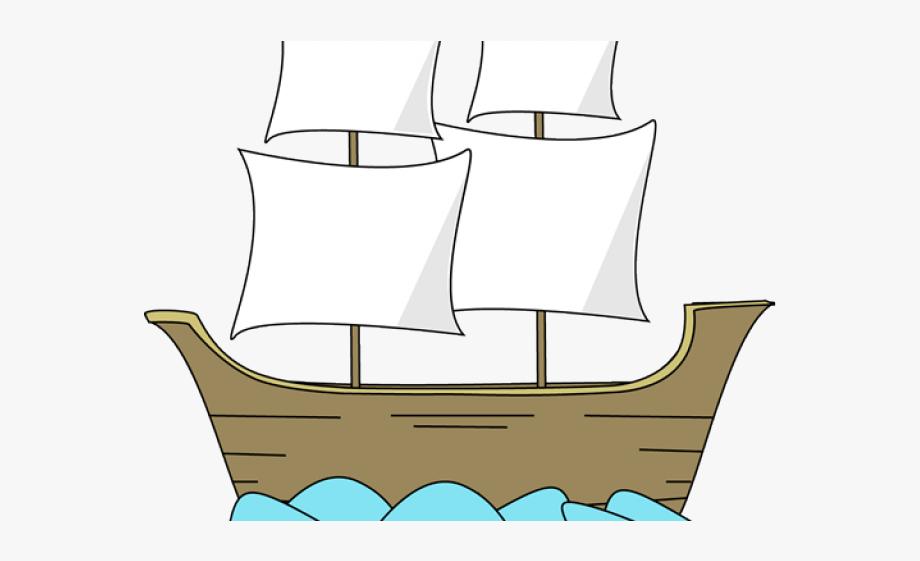 Pilgrim Clipart Boat.