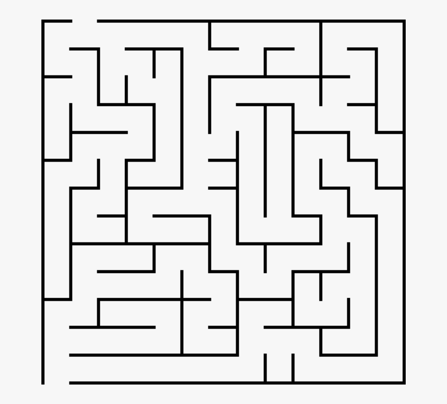 Maze clipart large, Maze large Transparent FREE for download.