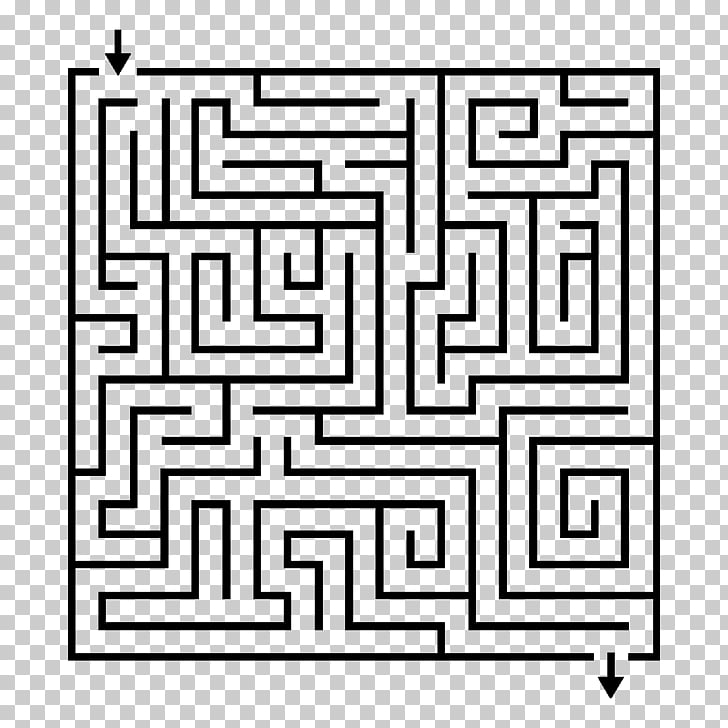 Hedge maze Labyrinth Puzzle, mural PNG clipart.