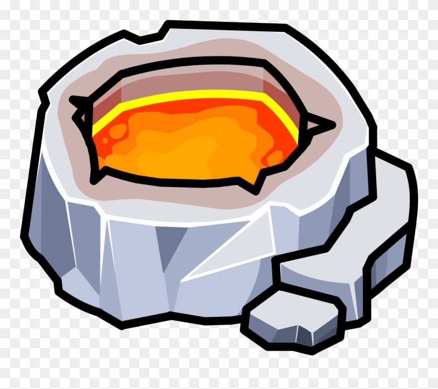 Hot N\'cold Crater Clipart (#3430519).