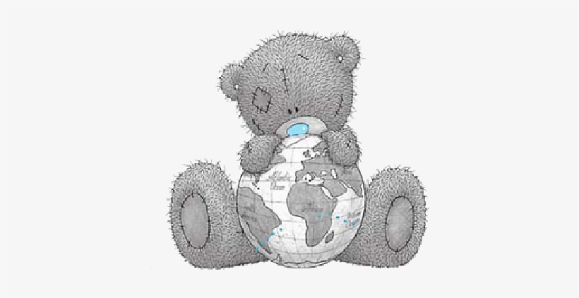 Teddy Bear Clipart Gray.