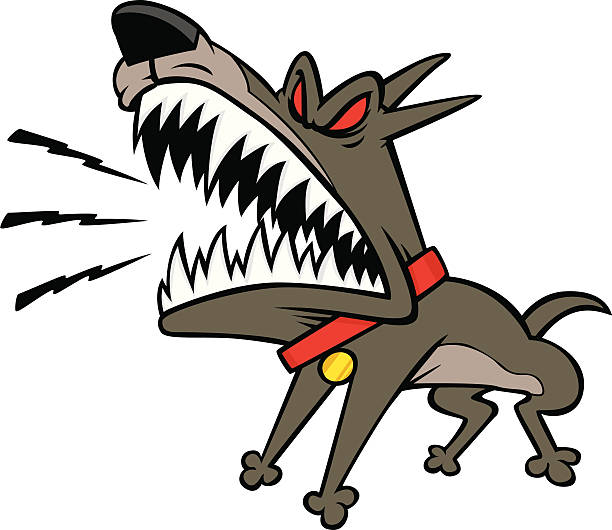 Attack Dog Clipart.