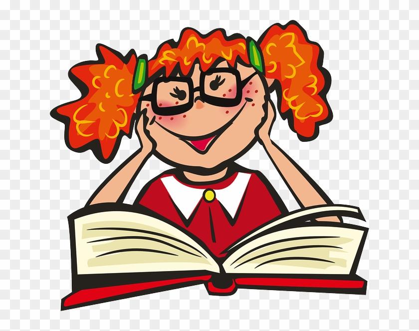 Clipart Read A Book Clipart.
