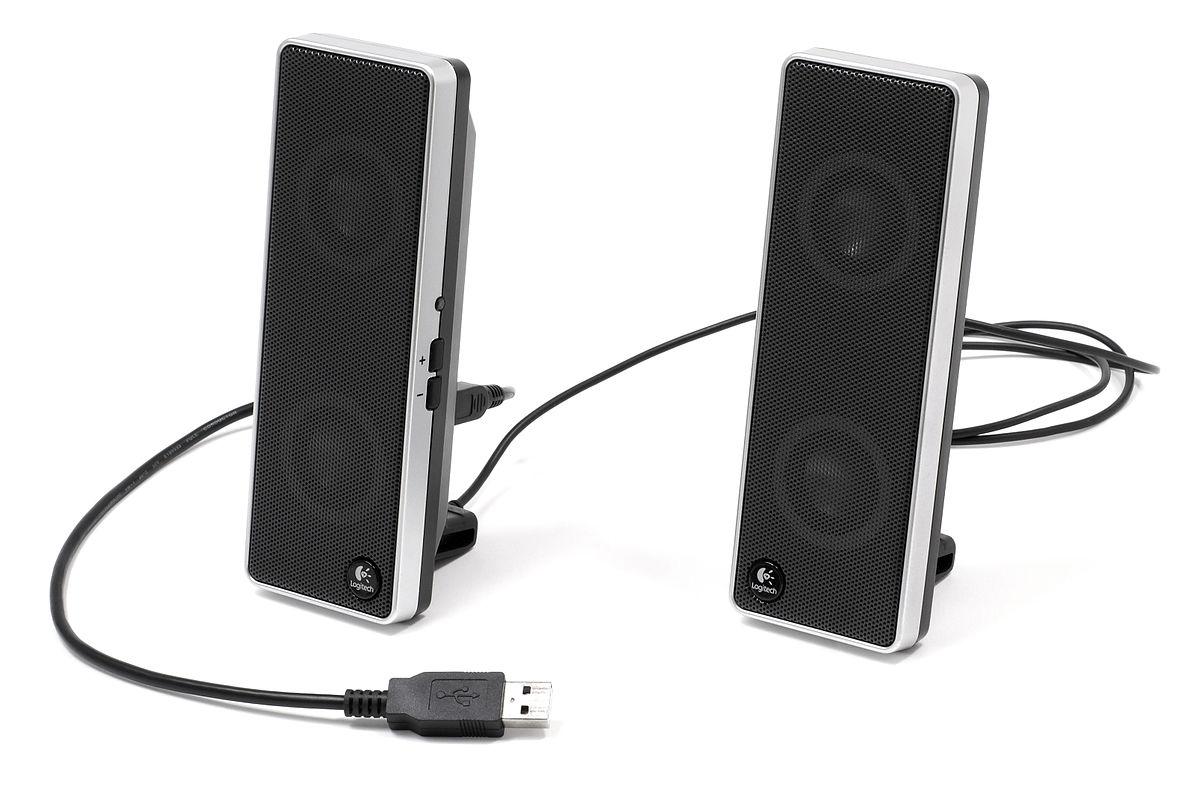 Computer speakers.