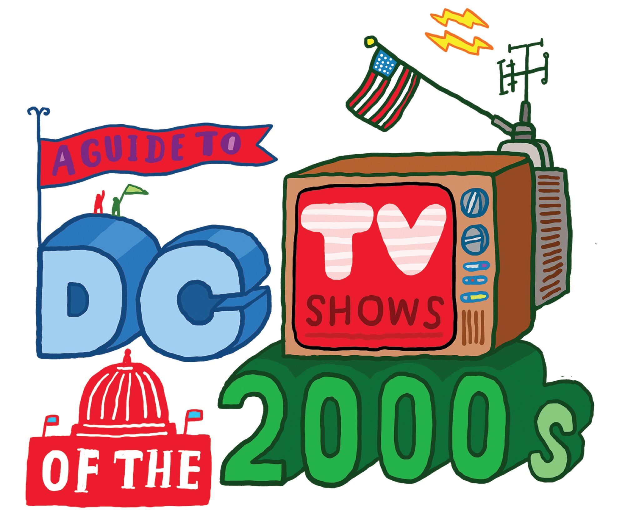 A map of the D.C. we see on TV, from \'Veep\' to \'House of.
