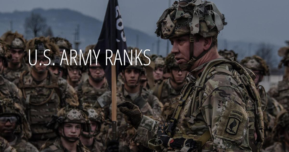 U.S. Army Ranks.