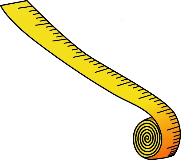 Measuring Tape clip art Free vector in Open office drawing.