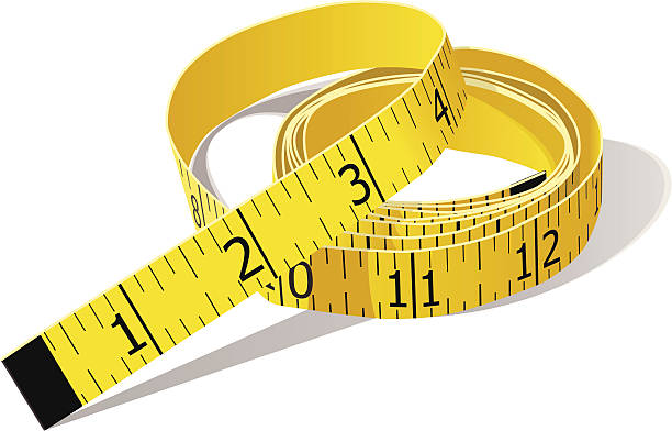 Best Tape Measure Illustrations, Royalty.