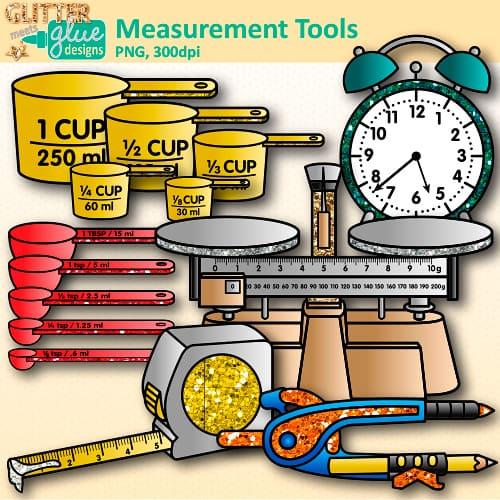 Measurement clipart 1 » Clipart Station.
