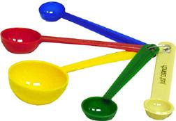 Measuring Spoons Clip Art.