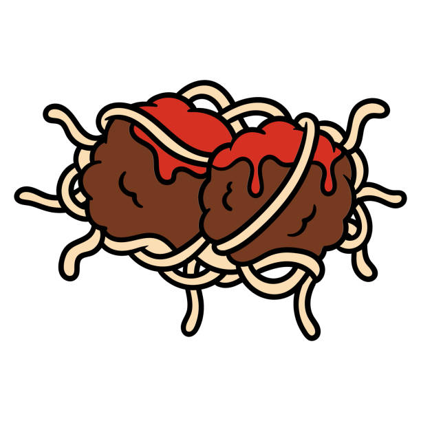 Best Meatball Illustrations, Royalty.