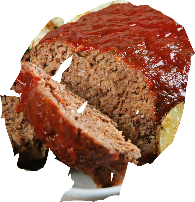 Meatloaf Png Vector, Clipart, PSD.