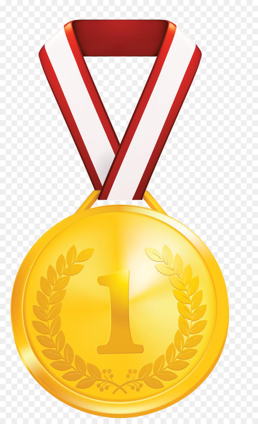 Goldmedaille mit Lorbeerkranz.