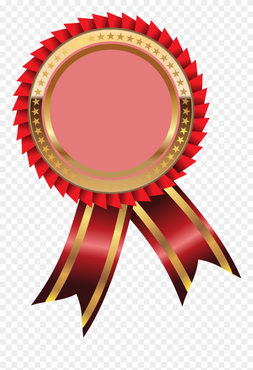 Graphic Library Gold Medal Ribbon Clipart.