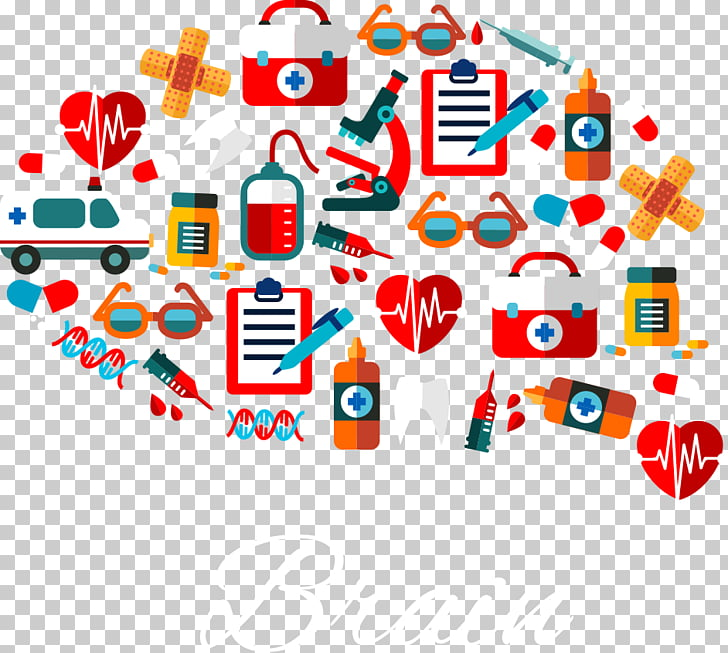 Shape , brain shape Medical Supplies PNG clipart.