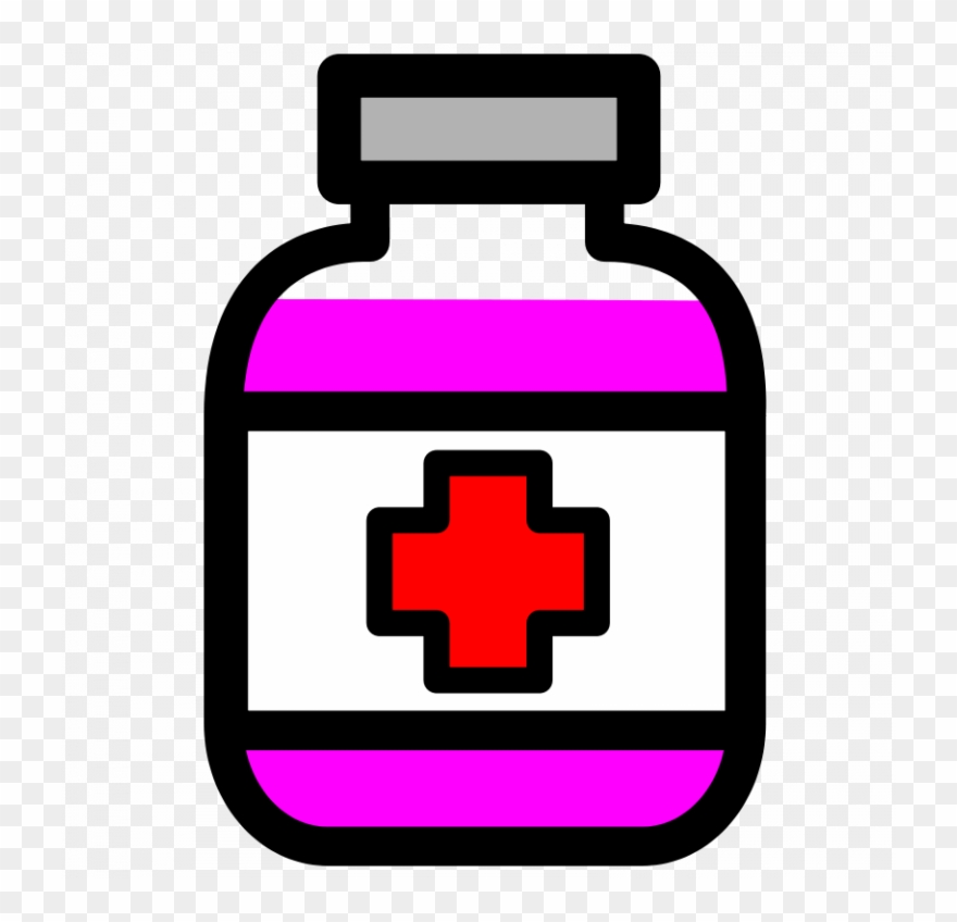 Free Medication Bottle Real And Vector Graphics.